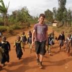 Unterwegs im Dorf