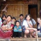 Eine thailändische Gastfamilie