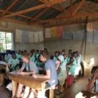 In einer kenianischen Schule