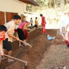 Arbeit im Dorf