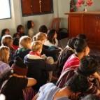 Beim Gottesdienst